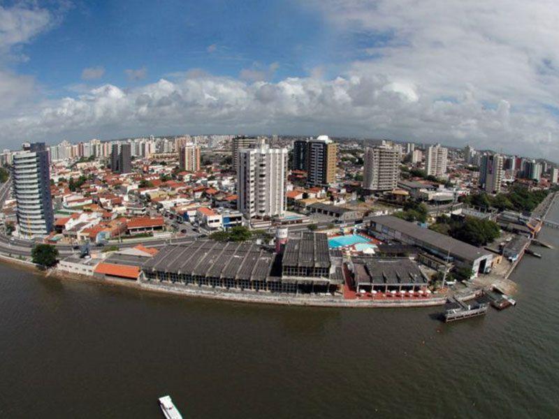 Cidade de Aracaju Curva da Avenida Beira Mar
