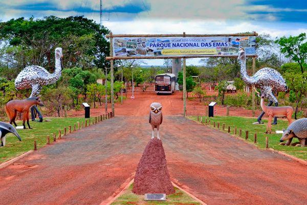 Parque Nacional das Emas - Goiás